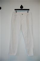 Bright White Gucci Denim, size 38