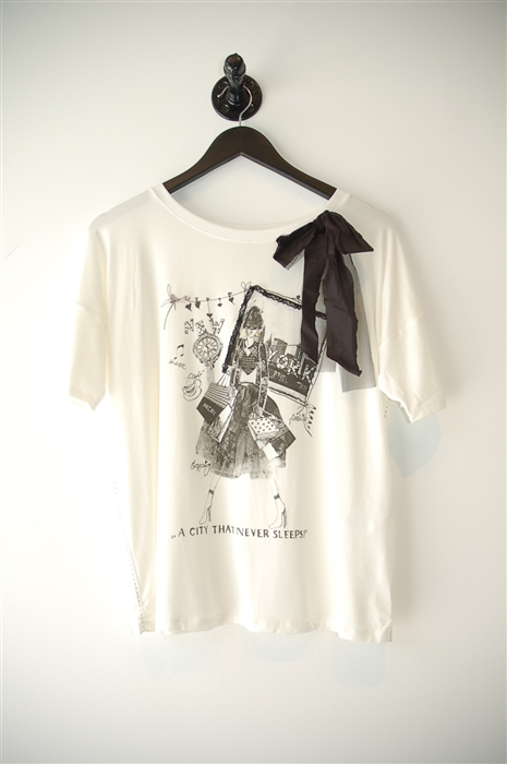 item 101785 marc cain t shirt soft white l garb. Black Bedroom Furniture Sets. Home Design Ideas