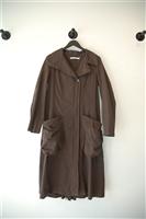 Chocolate Lauren Vidal Coat, size S