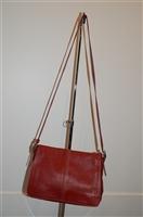 Deep Red Coach Shoulder Bag, size M