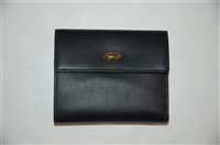 Black Leather Nina Ricci Wallet, size M