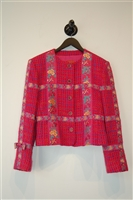 Hot Pink Kenzo - Vintage Skirt Suit, size S