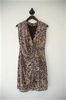Animal Print Rachel Zoe Sheath Dress, size 6