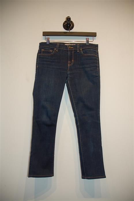 Dark Denim J Brand Skinny Jean, size 27