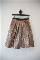 Floral Marni for H&M A-Line Skirt, size 4