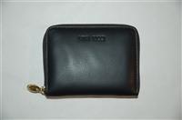 Black Leather Nina Ricci Wallet, size M