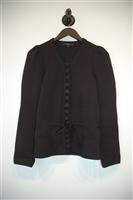 Basic Black Gucci Cardigan, size L