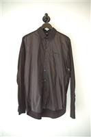 Basic Black Mads Norsgard Button Shirt, size L
