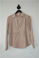 Beige Rebecca Minkoff Shirt, size 0
