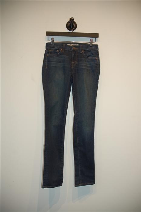 Dark Denim J Brand Skinny Jean, size 25