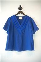 Royal Blue 3.1 Phillip Lim Short-Sleeved Top, size 4