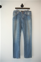 Light Denim Nudie Jeans Denim, size 36