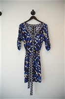 Blue Tones BCBG Maxazria Jersey Dress, size M