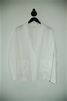 Summer White Eileen Fisher Blazer, size S