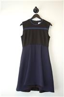 Navy & Black Victoria Beckham - Victoria A-Line Dress, size 4