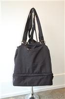 Basic Black No Label Backpack, size O/S
