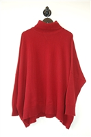 Dark Red Eskandar Turtleneck, size M