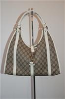 Monogram Gucci Hobo, size L