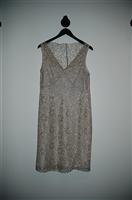 Pale Beige BCBG Maxazria Party Dress, size 12