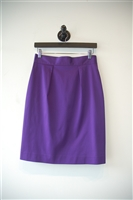 Bright Purple Versace Jeans Couture Pencil Skirt, size 6