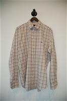 Check Etro Button Shirt, size L