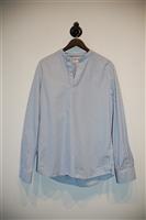Blue Stripe No Label Pullover, size S