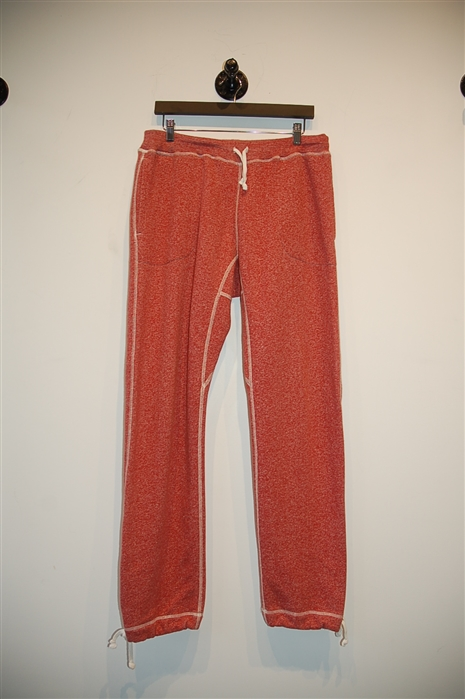 Brick Red Wings + Horns Sweatpant, size 34