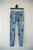 Denim Blue Stella McCartney Skinny Jean, size 25