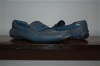 Deep Aqua Prada Loafer, size 8