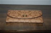 Monogram Coach Wallet, size L