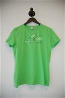 Electric Lime Dirk Bikkembergs T-Shirt, size XL