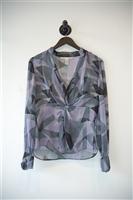Purple Tones Diane von Furstenberg Blouse, size 10