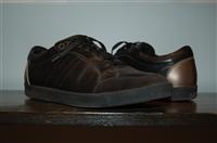 Black Leather Salvatore Ferragamo Sneaker, size 8.5