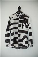 Black & White Moschino Button Shirt, size M