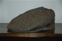 Herringbone No Label - Vintage Flat Cap, size O/S