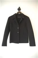 Basic Black Prada Jacket, size 6
