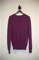 Plum Burberry - London Pullover, size L