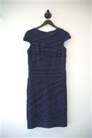 Navy Tadashi Shoji Sheath Dress, size M