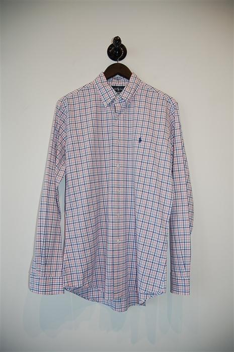 Check Ralph Lauren - Polo Button Shirt, size M