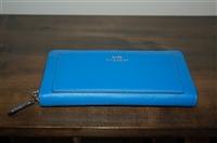 Azure Blue Coach Wallet, size L