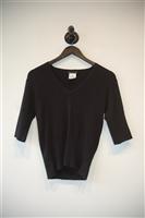 Basic Black Agnes B. Short-Sleeved Top, size S
