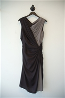 Black & Gray Tadashi Shoji Sheath Dress, size 12