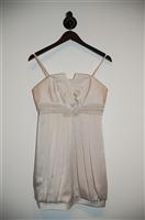 Ivory BCBG Maxazria Cocktail Dress, size 4