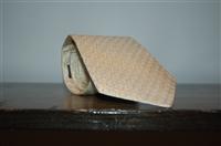 Vanilla Hermes Tie, size O/S