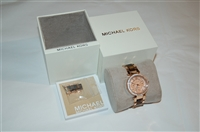 Rose Gold Michael Kors Watch, size O/S