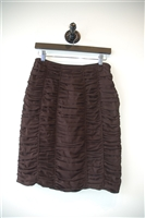 Dark Chocolate Burberry Prorsum Pencil Skirt, size 6