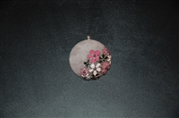 Pale Pink No Label Pendant, size O/S