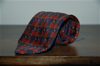 Navy Liberty of London Tie, size O/S