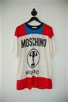 Print Moschino T-Shirt, size L