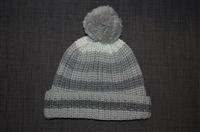 Gray Stripe Sonia Rykiel Touque, size O/S